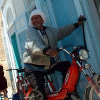 Kairouan scooter man